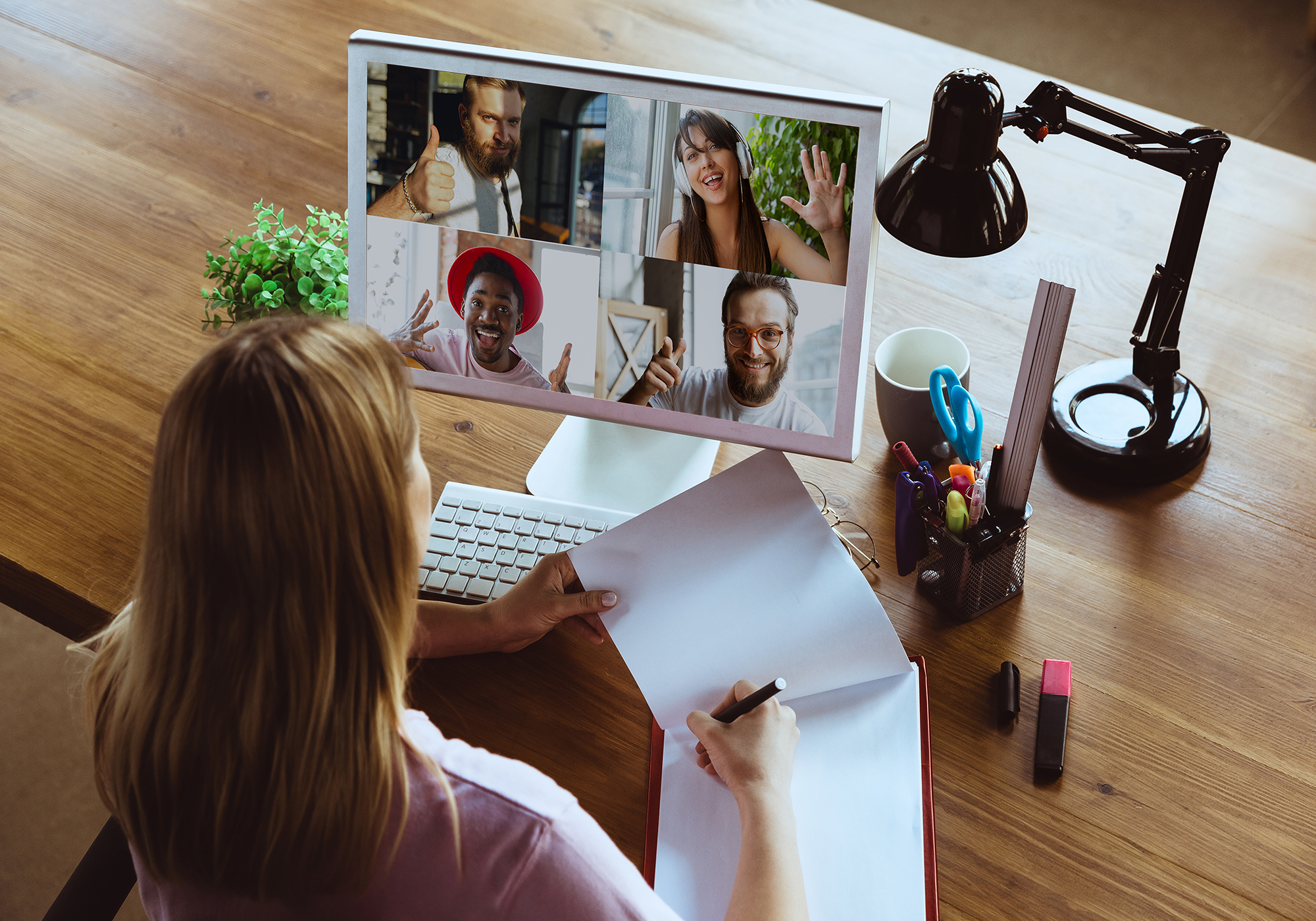 how to communicate with remote employees