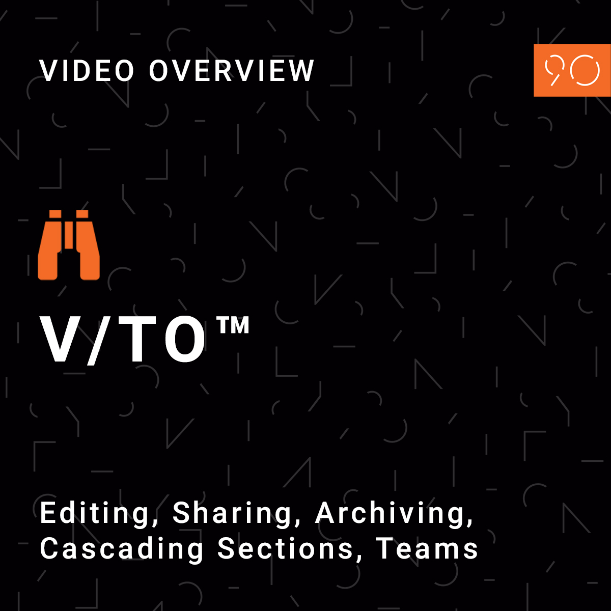 VTO-video overview tiles